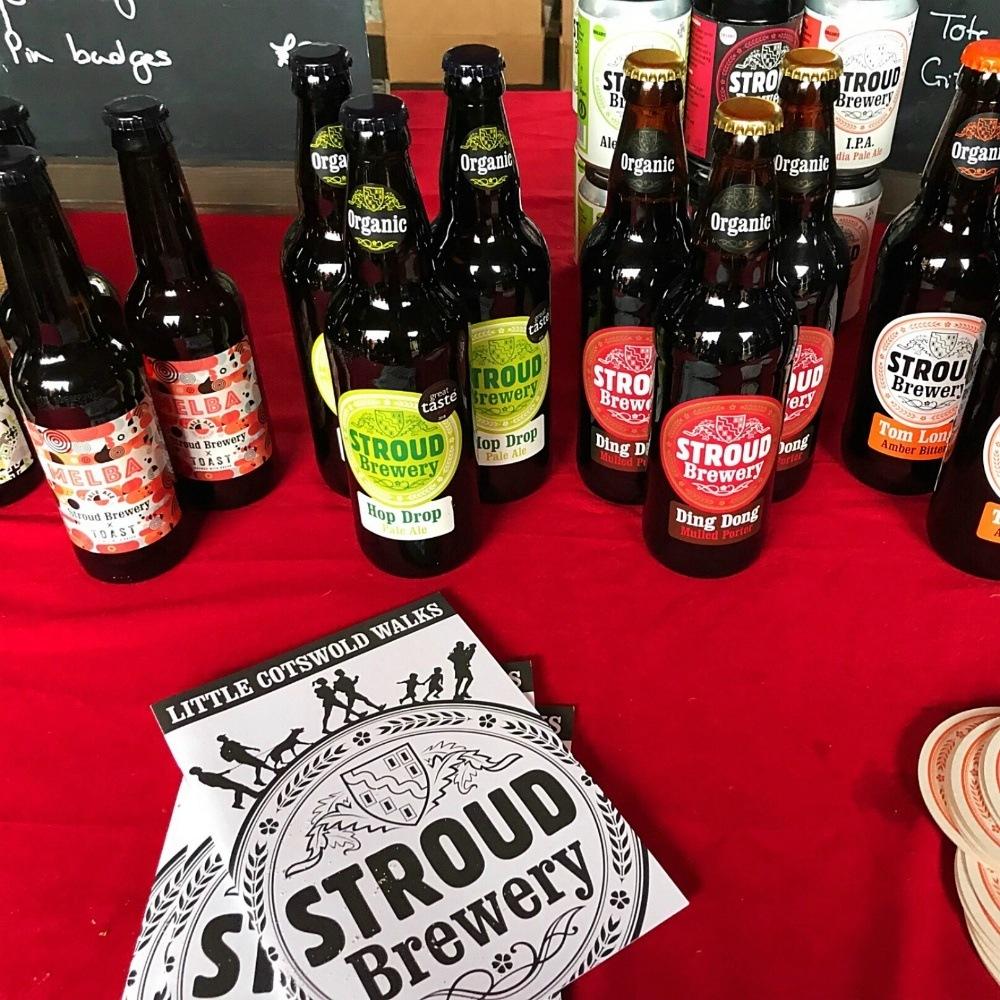 Stroud Beer at Stroud Farmers Market Photo Heatheronhertravels.com