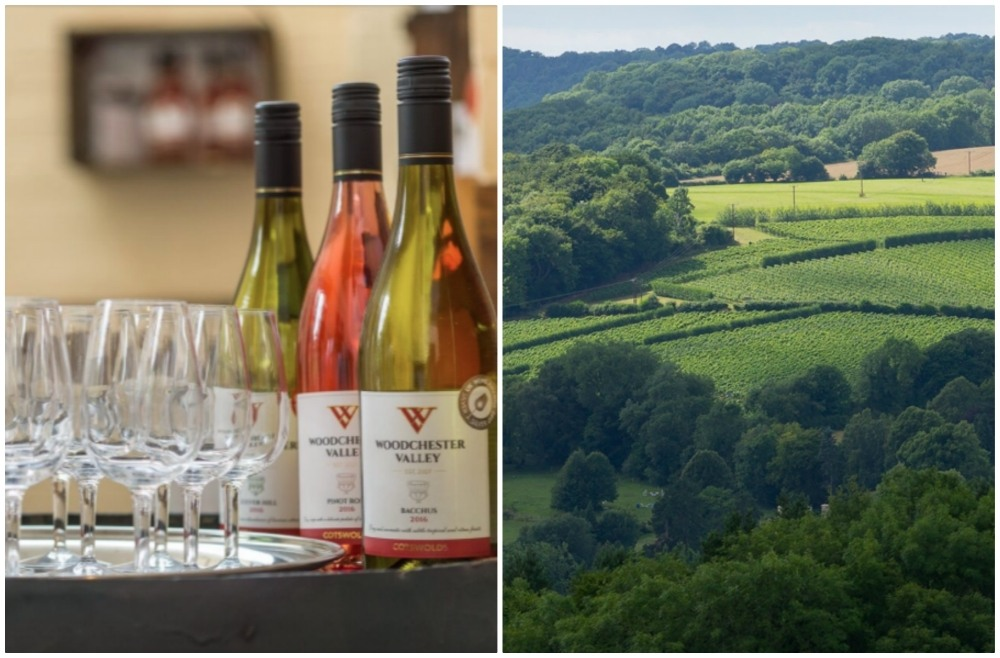 Woodchester winery near Stroud