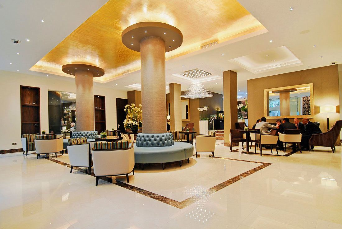 Lobby at The Montcalm Hotel London Marble Arch