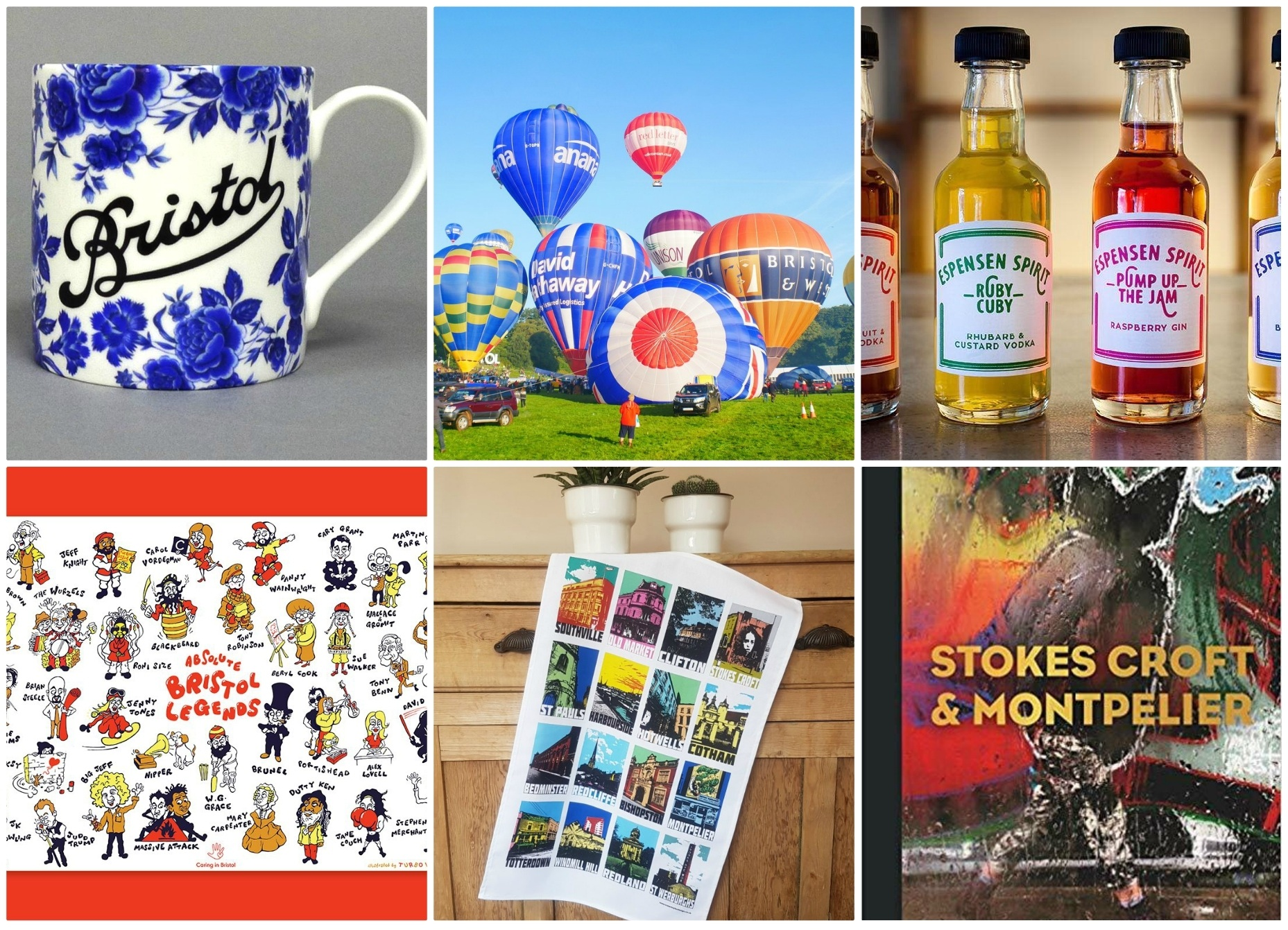 Bristol Gifts - 50 Gifts that say you love Bristol