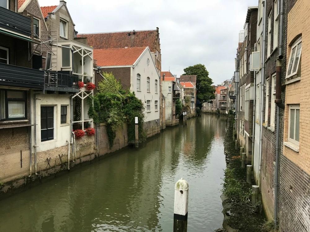 Canals in Dordrecht, Netherlands Photo Heatheronhertravels.com