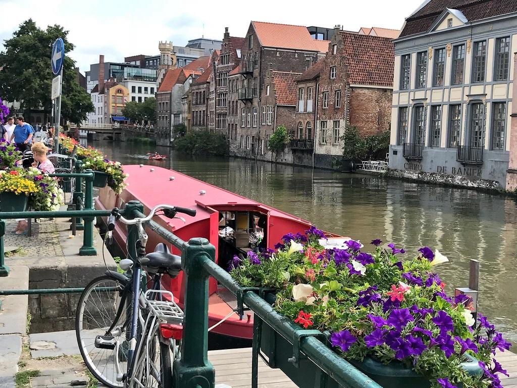 Canals in Ghent Photo Heatheronhertravels.com