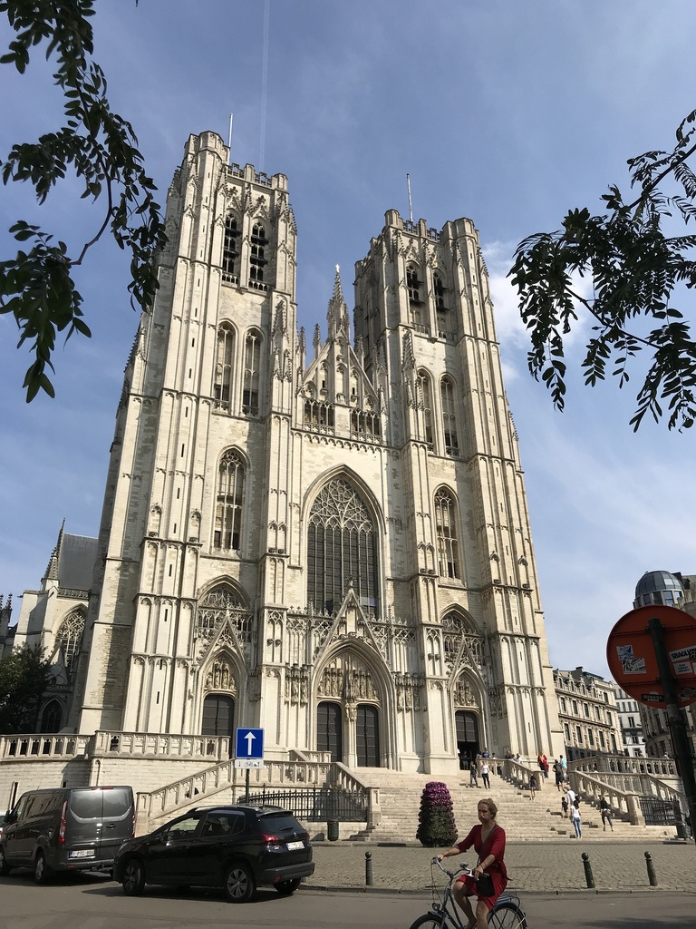 Cathedral in Brussels