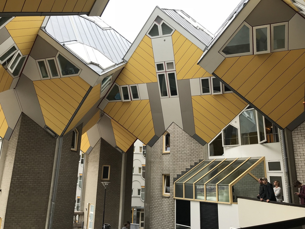 Cube houses in Rotterdam2 Photo Heatheronhertravels.com