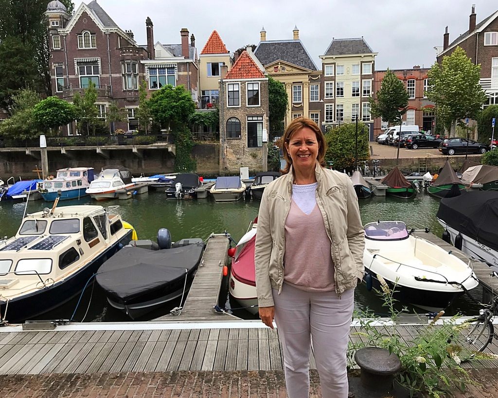 Dordrecht Netherlands on our Titan River Cruise Photo Heatheronhertravels.com