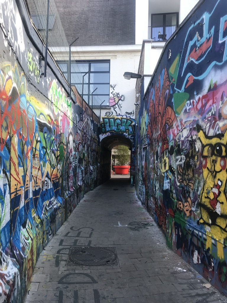 Graffiti Alley in Ghent Photo Heatheronhertravels.com
