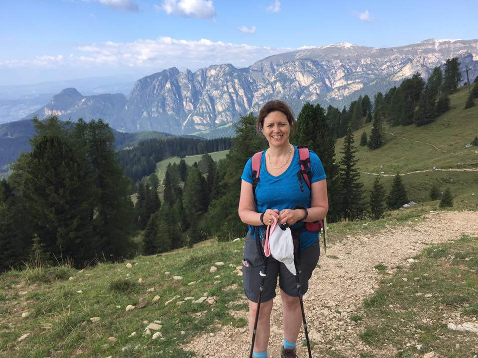 Hiking in the Dolomites Italy