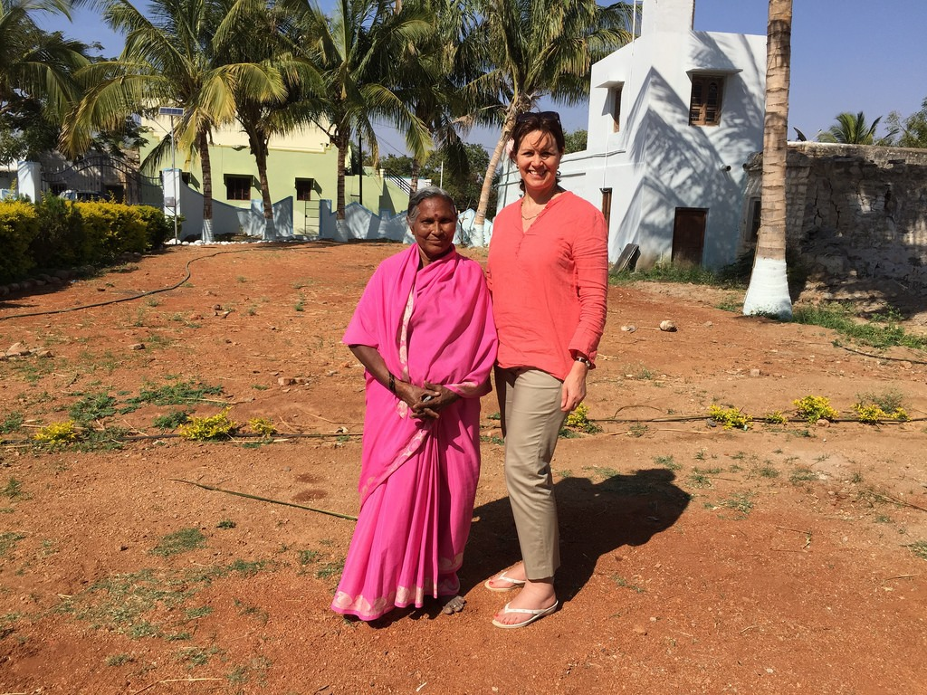 My charity visit to India