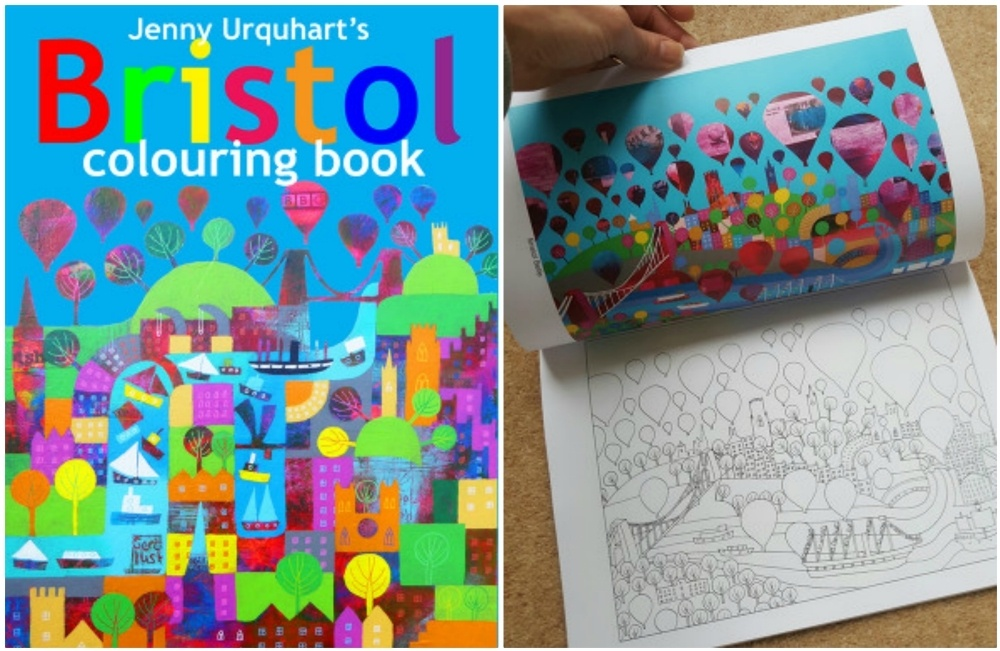 Jenny Uquhart colouring book