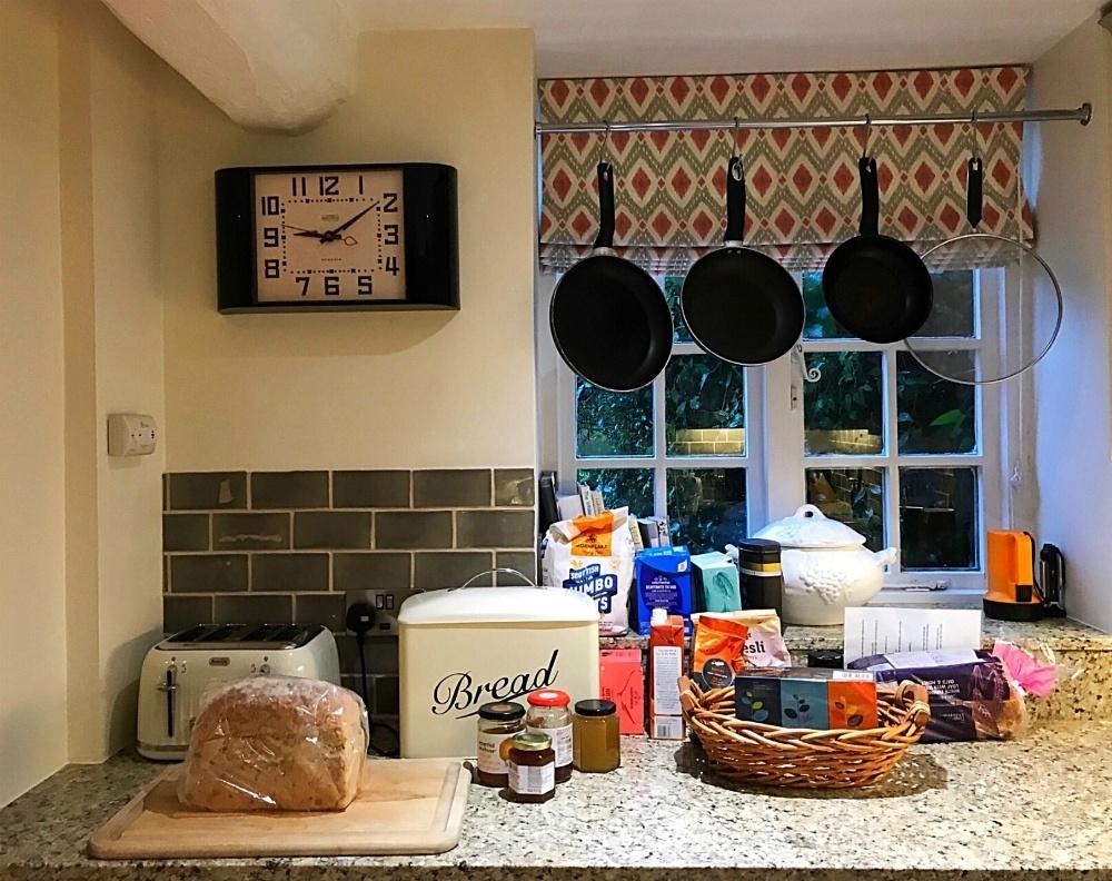 Kitchen in Aintree at Bruern Cottages - Photo Heatheronhertravels.com