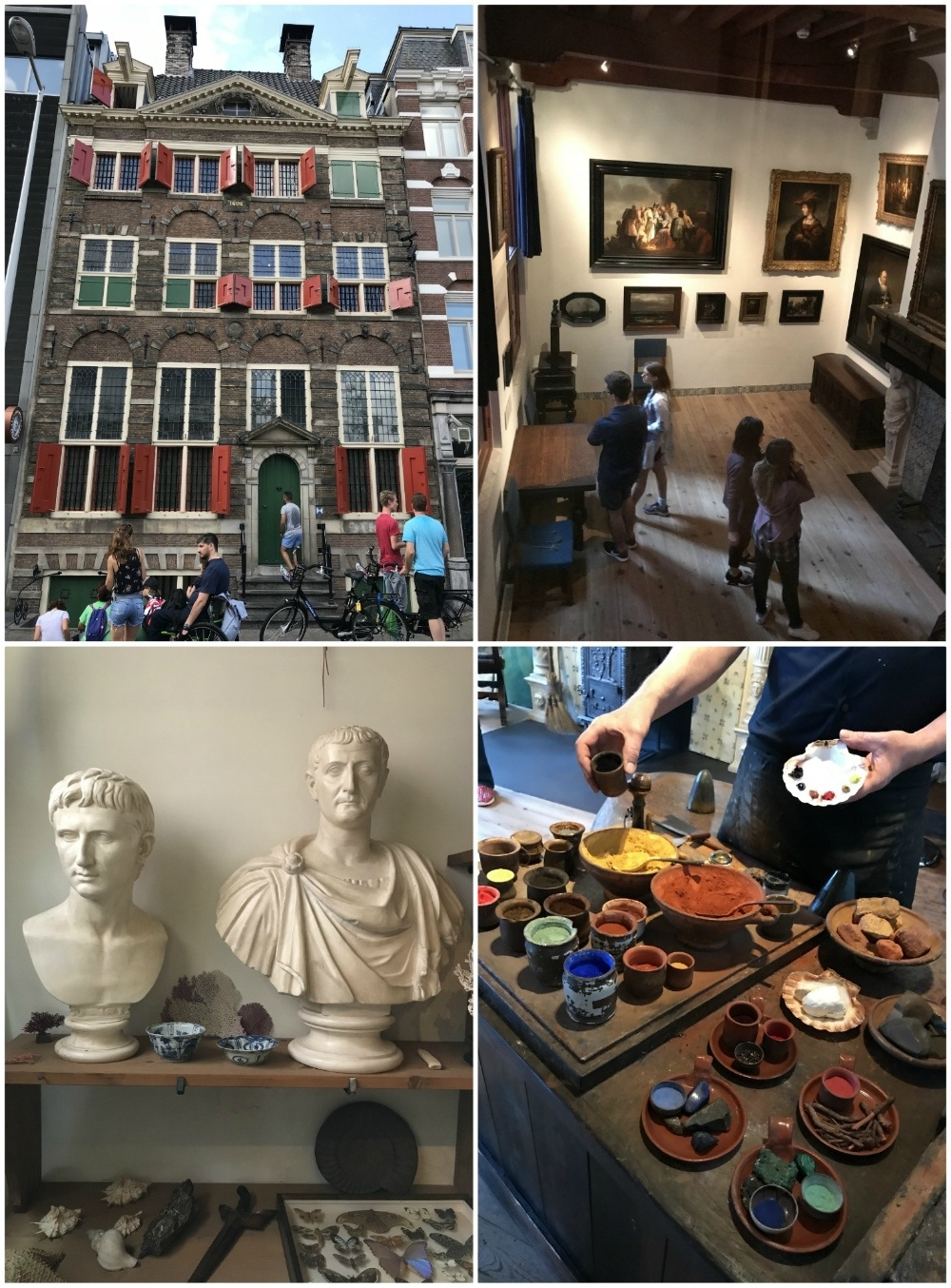 Rembrandt House in Amsterdam