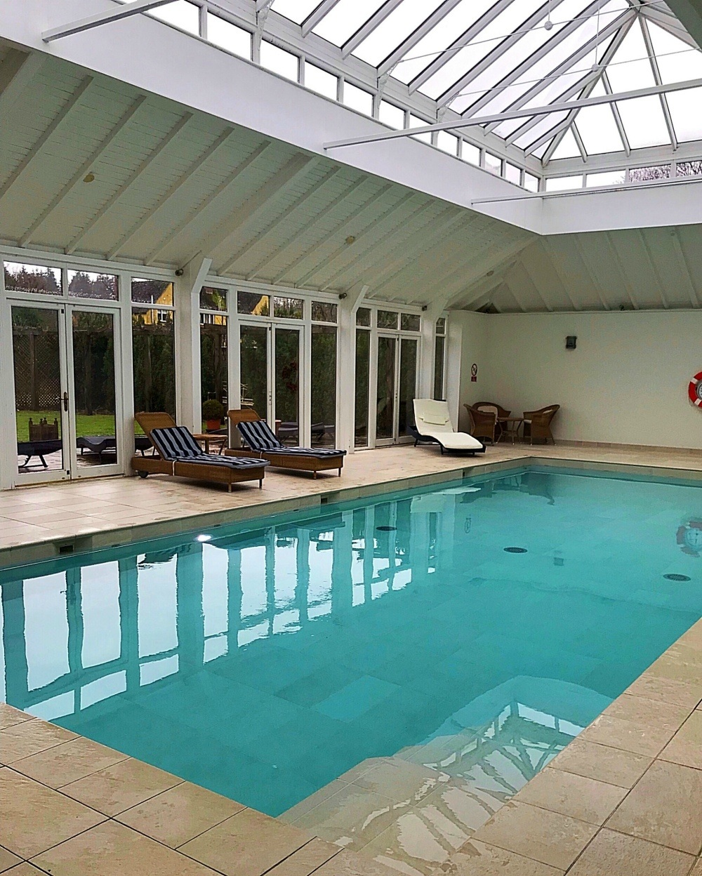 Swimming Pool at Bruern Cottages - Photo Heatheronhertravels.com