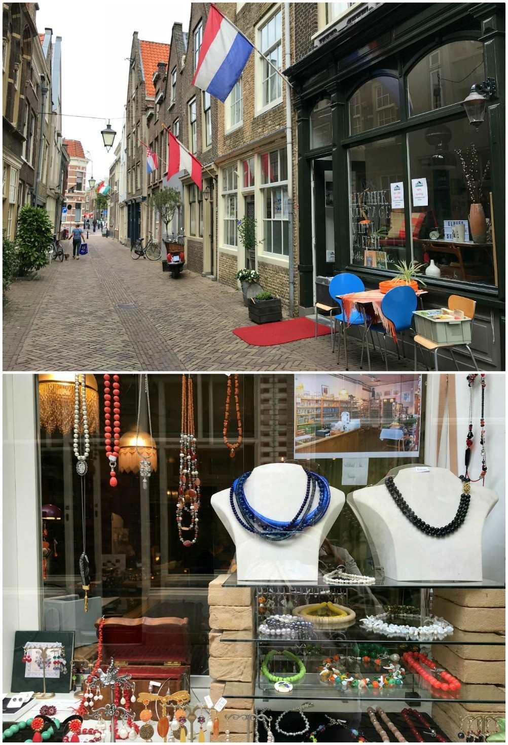 Vintage shops in Dordrecht, Netherlands Photo Heatheronhertravels.com