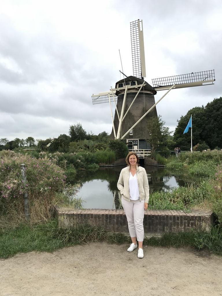 Riekermolen Windmill near Amsterdam