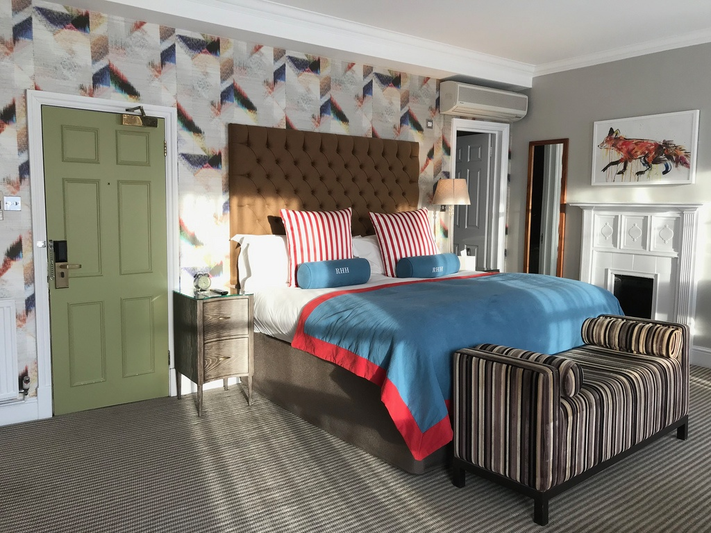 Boutique Hotels in Richmond London - Bedroom Richmond Harbour Hotel Photo Heatheronhertravels.com
