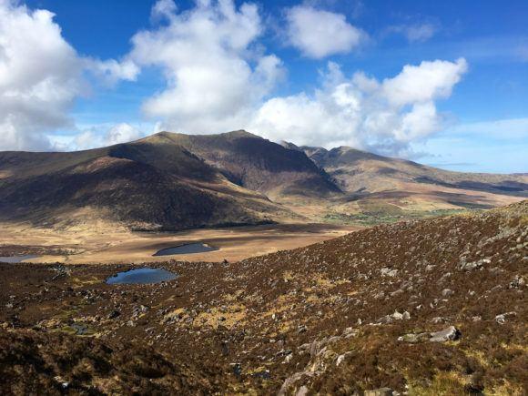 Conor Pass View Wild Atlantic Way Ireland Photo Joe Saw