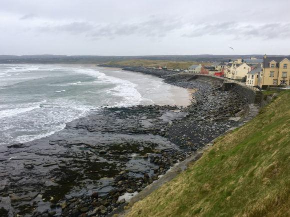 Kilkee Beach Wild Atlantic Way Ireland Photo Joe Saw