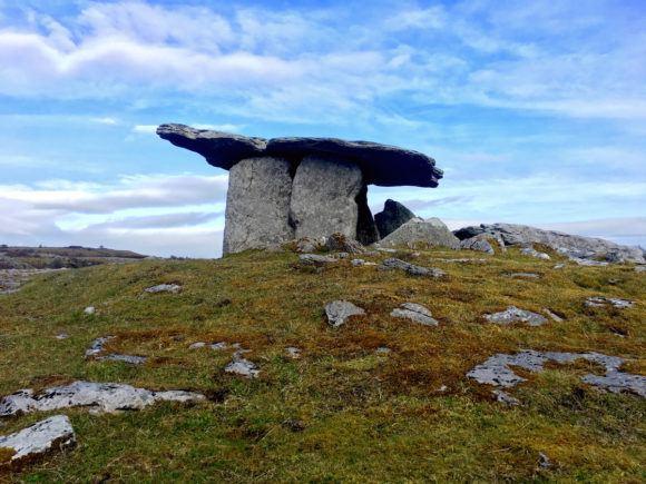 Poulnabrone Dolmen Wild Atlantic Way Ireland Photo Joe Saw