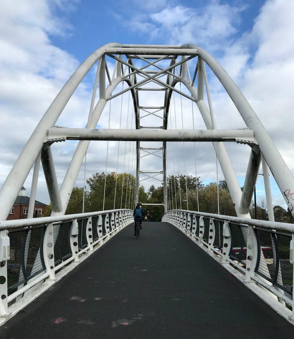 Regency Bike trail in Cheltenham