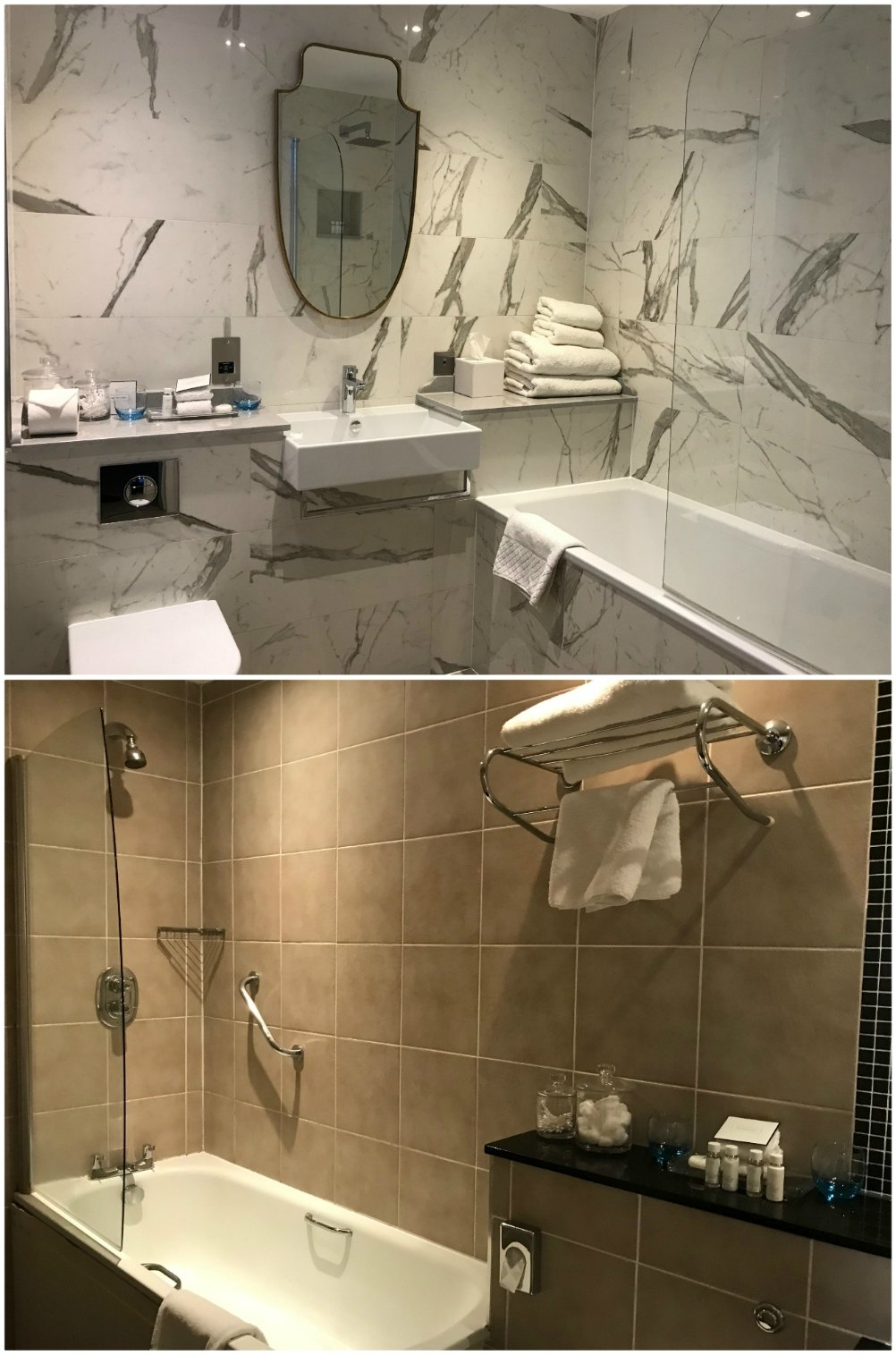 Boutique Hotels in Richmond London - Richmond Harbour Hotel bathroom