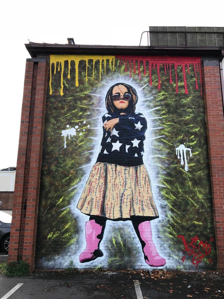 Streetart in Cheltenham