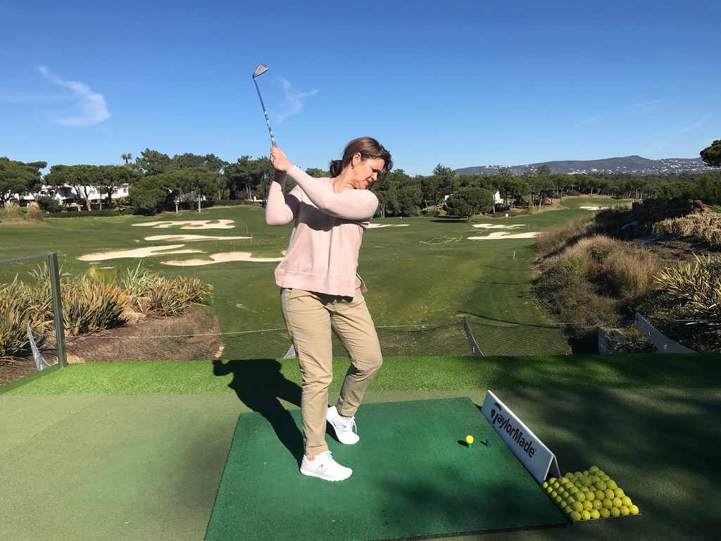 Golf at Paul McGinley golf academy - Quinta do Lago Country Club Photo Heatheronhertravels.com