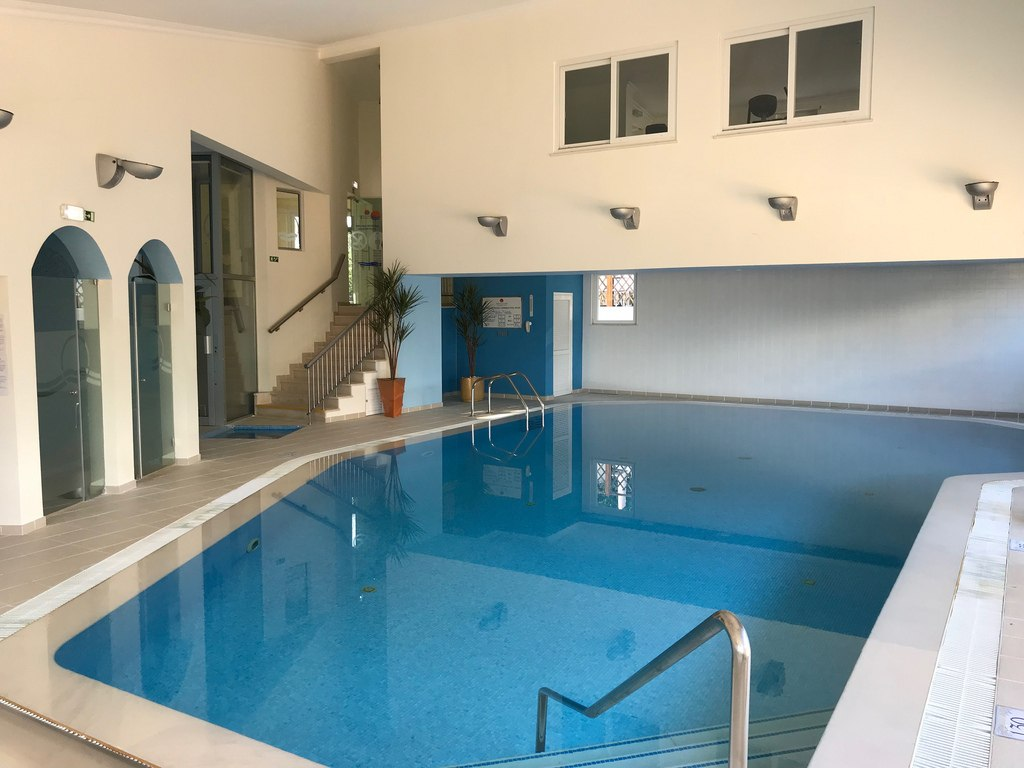Indoor pool at Quinta do Lago Country Club Photo Heatheronhertravels.com