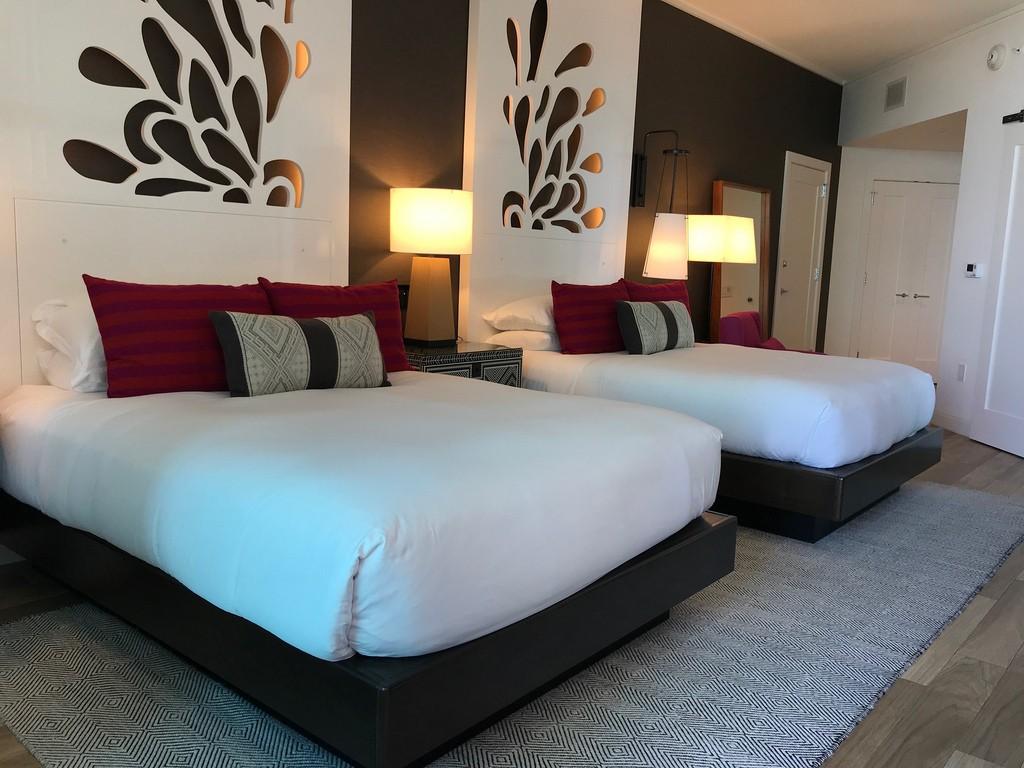 Bedroom at Kimpton Seafire Resort Grand Cayman Photo: Heatheronhertravels.com