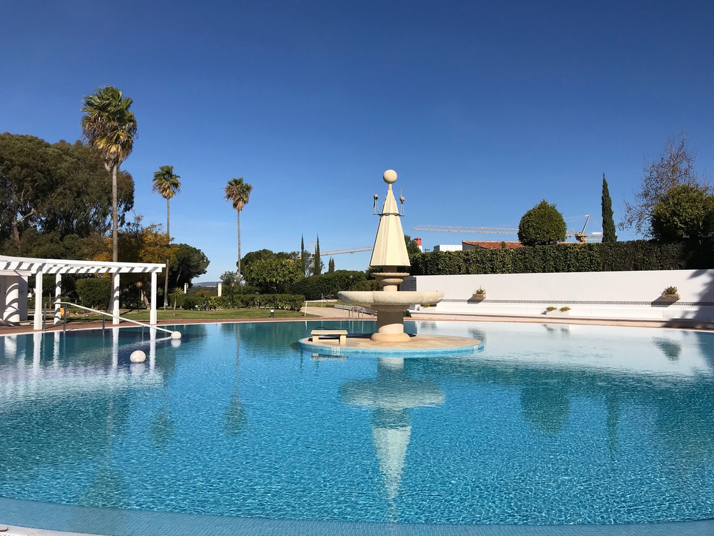 Outdoor pool at Quinta do Lago Country Club Photo Heatheronhertravels.com