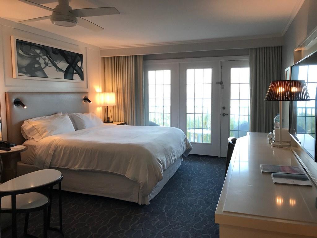 My bedroom at Westin Grand Cayman Seven Mile Beach Resort
