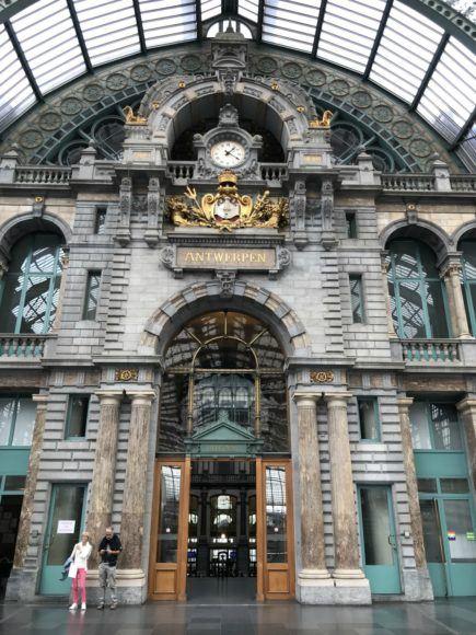 Things to see in Antwerp - Antwerp Central Station Photo Heatheronhertravels