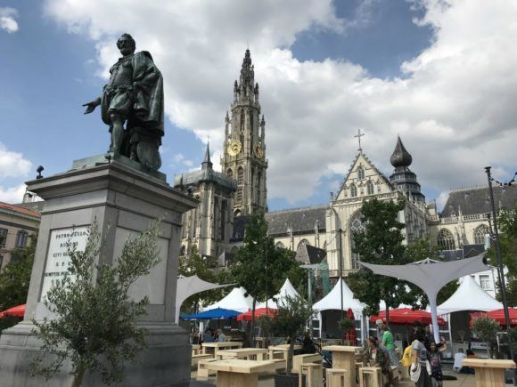 Things to do in Antwerp - Cathedral Square in Antwerp Photo Heatheronhertravels