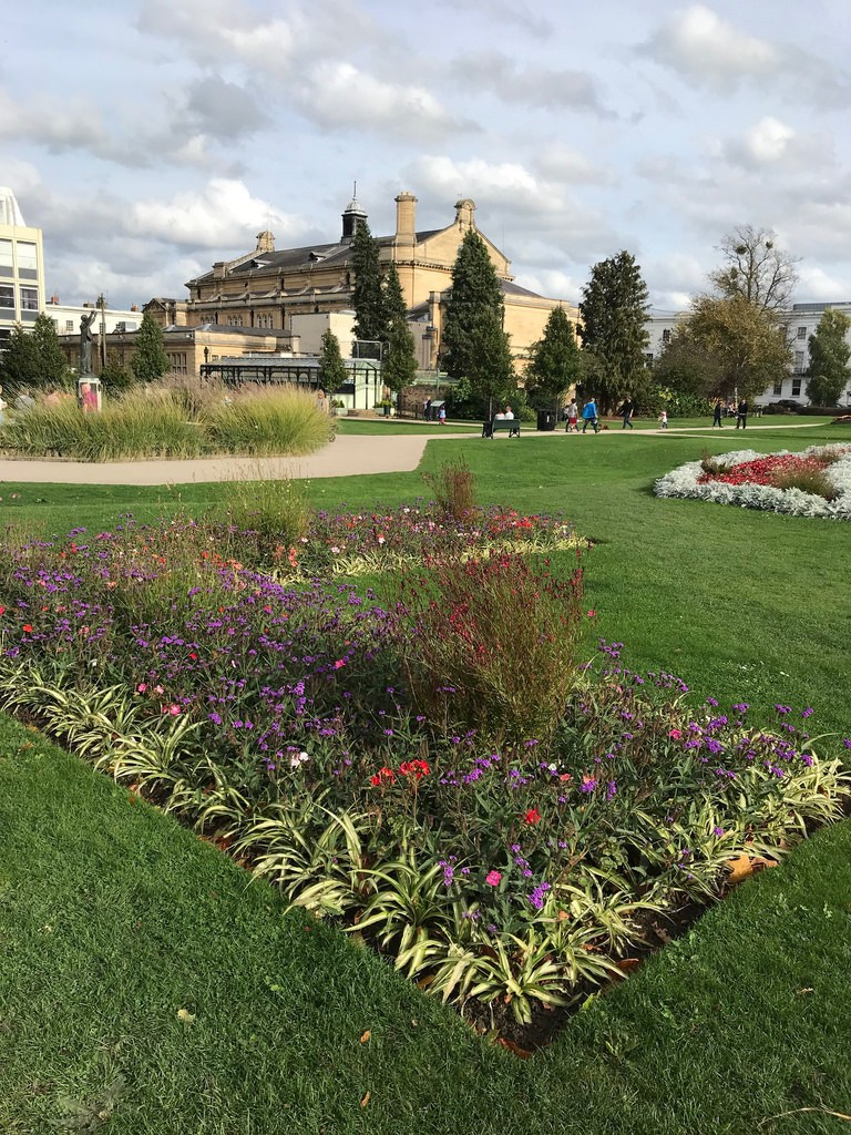 Imperial Gardens in Cheltenham Photo Heatheronhertravels.com