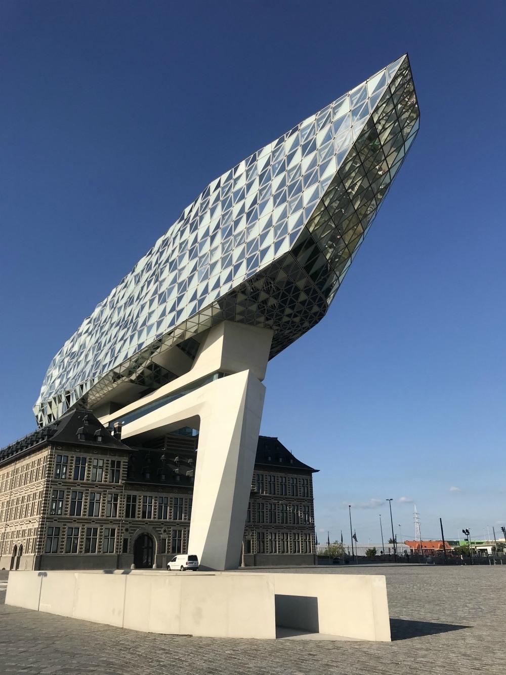 Things to see in Antwerp - The Port House in Antwerp Photo Heatheronhertravels