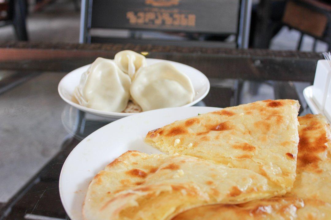 Traditional Georgian food in Tbilisi