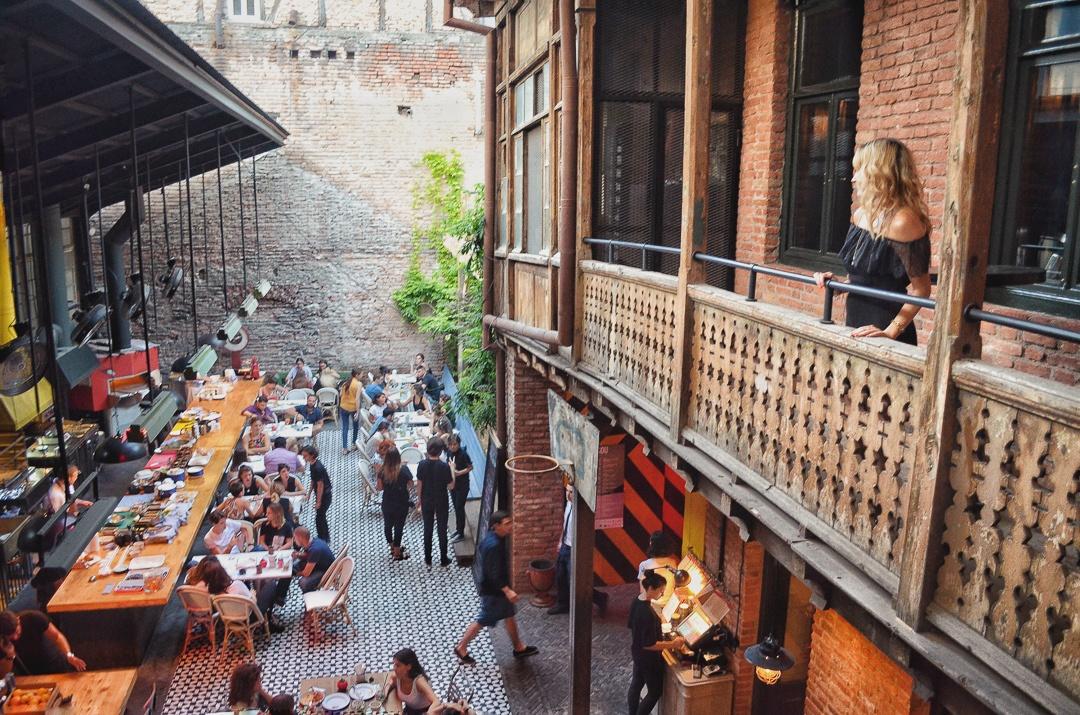 Vera in Tbilisi Lolita Restaurant