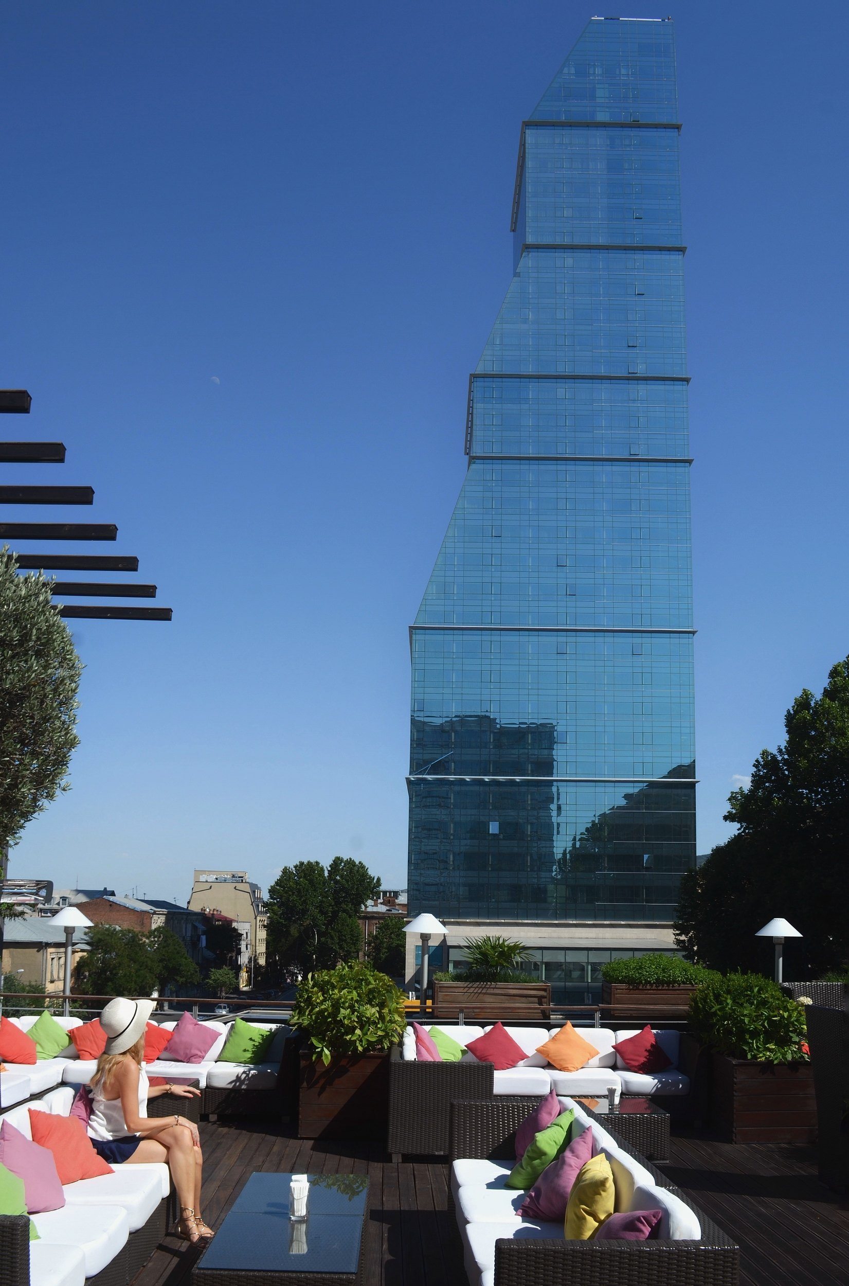 Lazy Afternoon at the Radisson Blu Iveria Terrace