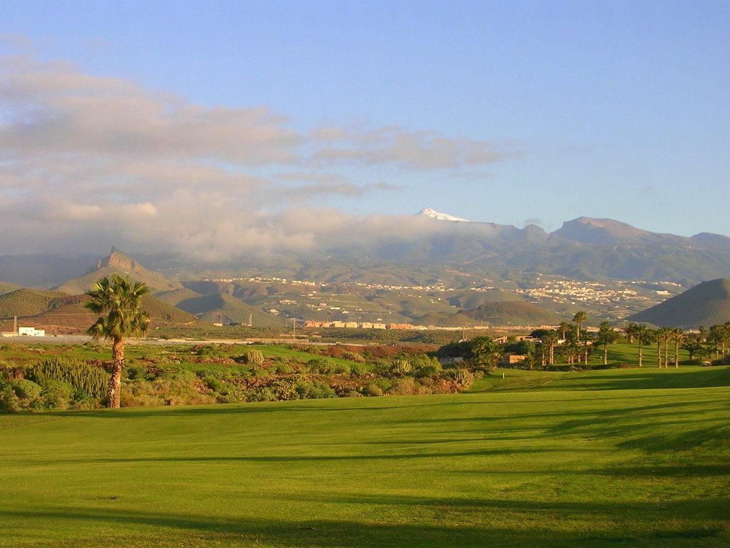 View from Amarilla Golf in Tenerife