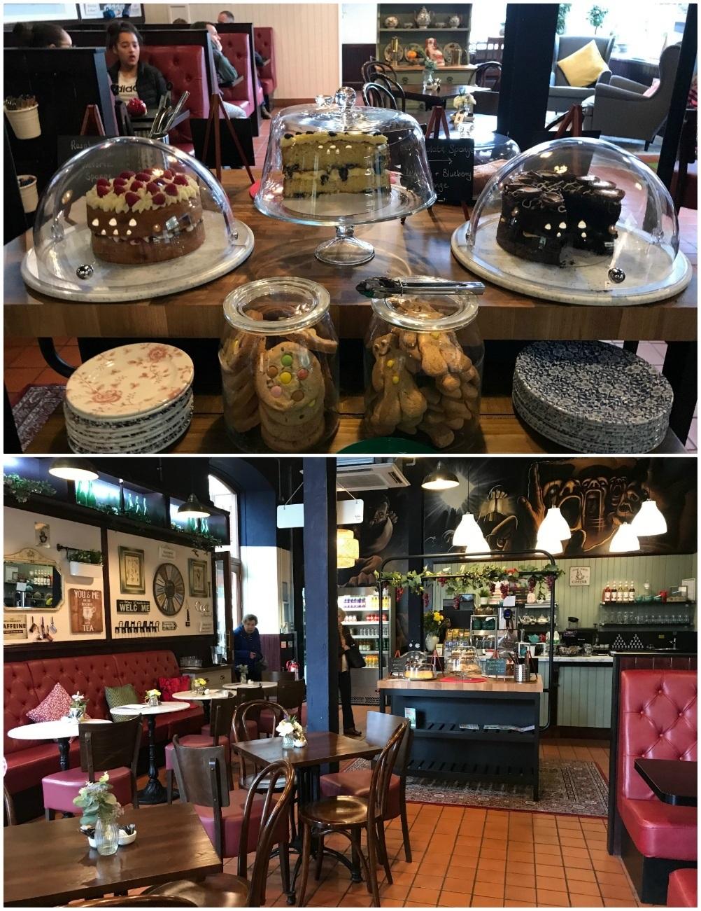 Bracchi Cafe at Rhondda Wales Photo Heatheronhertravels.com