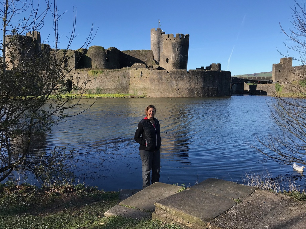 Day trips from Cardiff - Caerphilly Castle in The Valleys Photo Heatheronhertravels.com