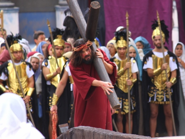 Easter Passion Play at Adeje in Tenerife
