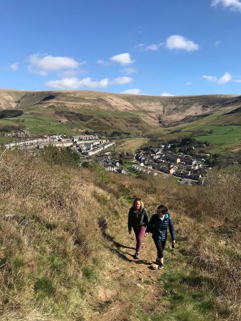Walking in Blaengarw valley South Wales Photo Heatheronhertravels.com