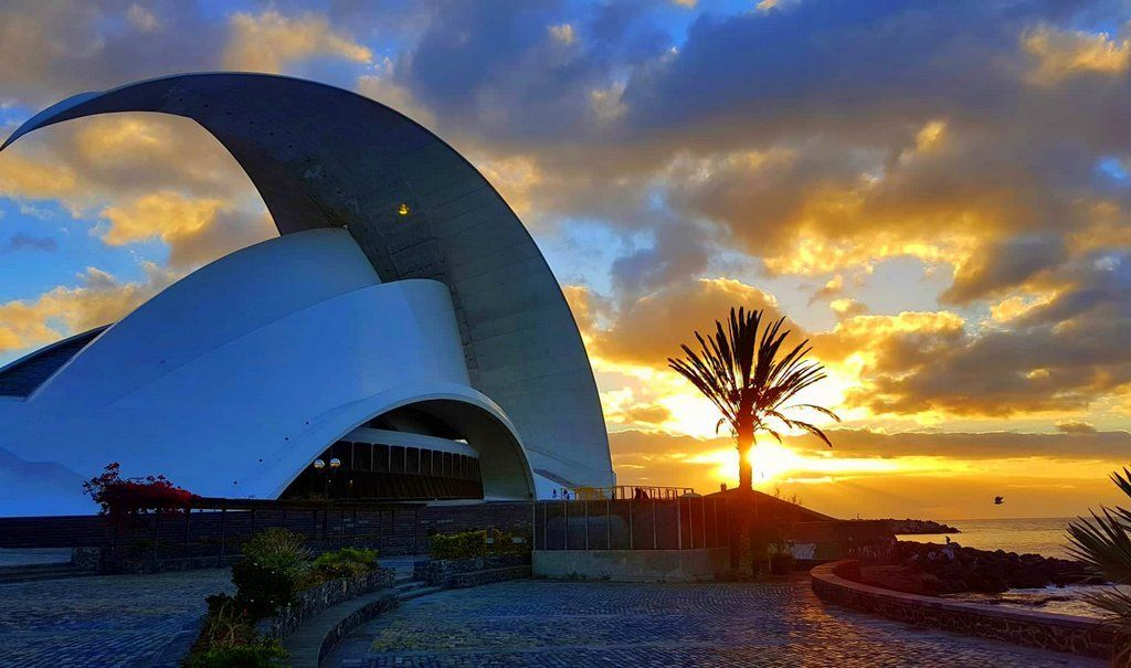 Auditorio de Tenerife at Sunrise