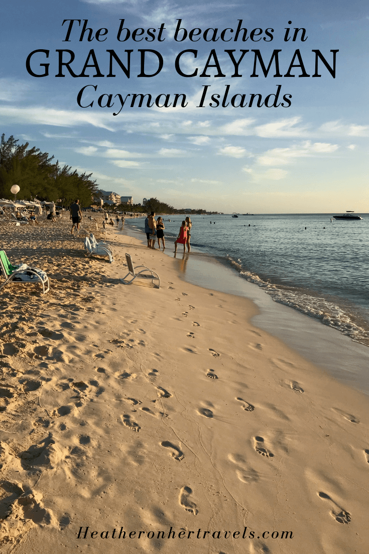 Best beaches in Grand Cayman, Cayman Islands