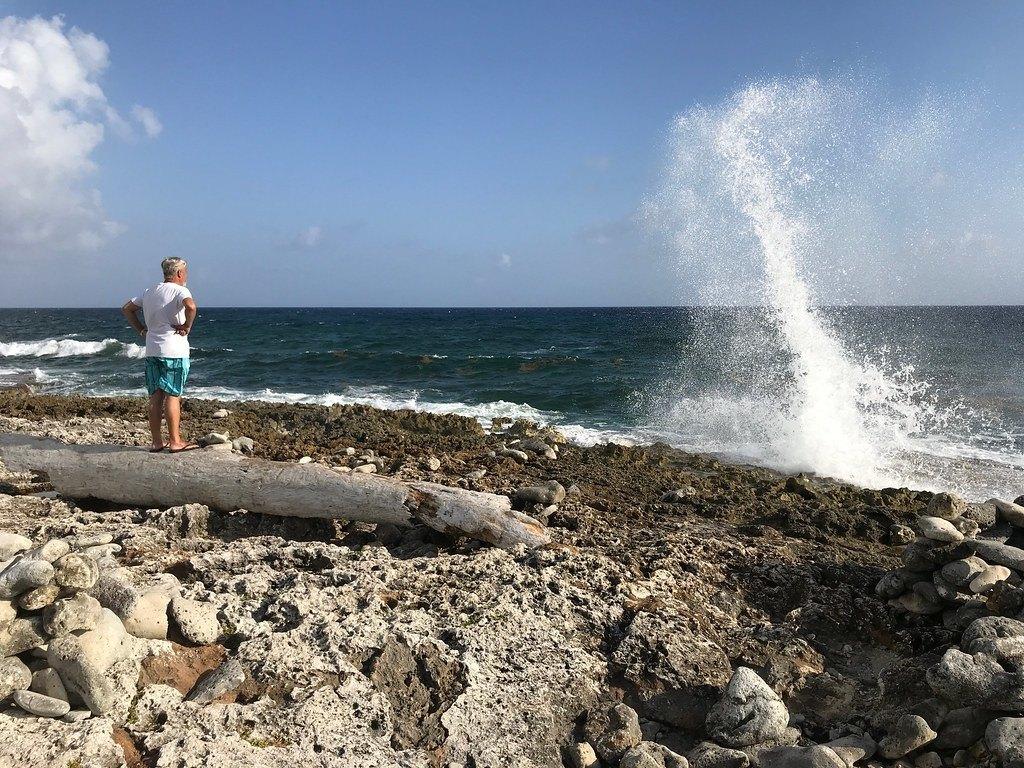 Blowholes on Grand Cayman, Cayman Islands