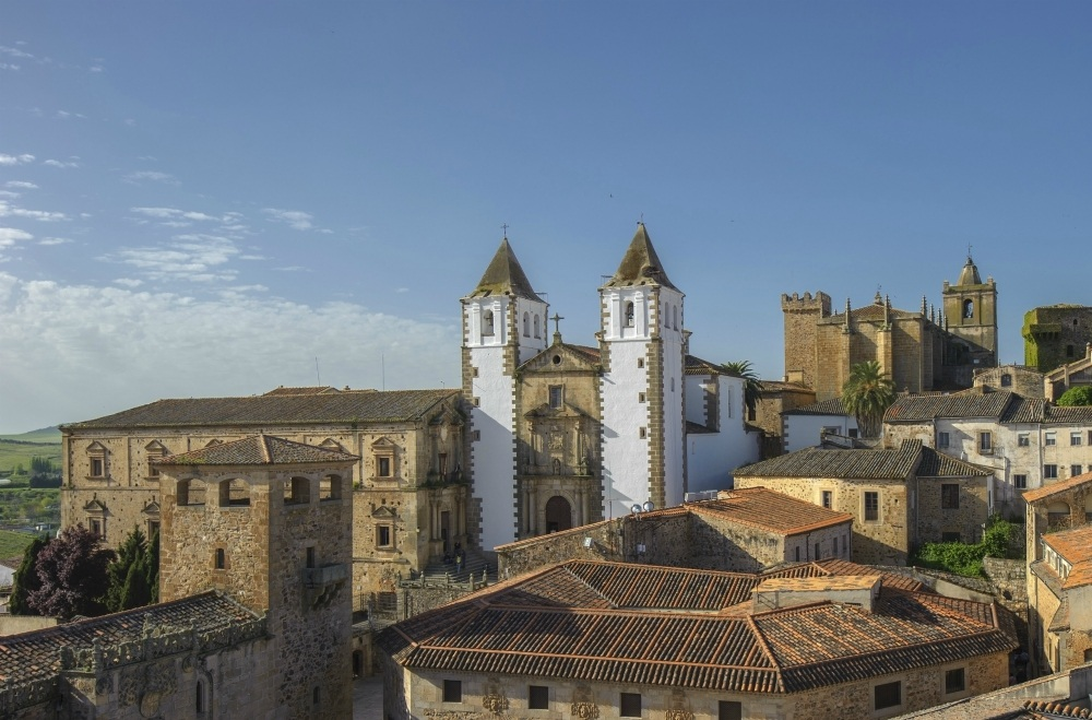 Old town of Caceras, Extremadura, Spain Photo: Extremadura Tourism Board