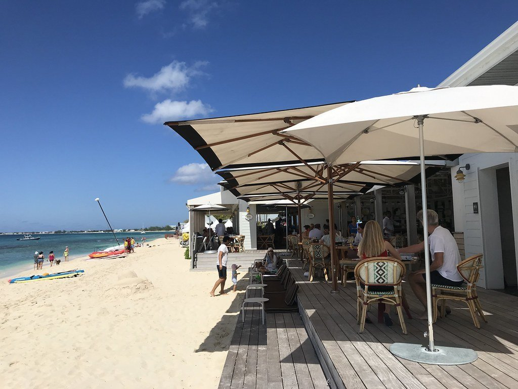 Grand Cayman Snorkeling near Coccoloba beach restaurant on Grand Cayman Kimpton Seafire