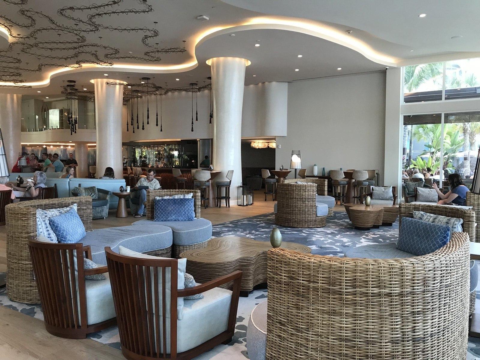 Lobby at Westin Grand Cayman Seven Mile Beach Resort