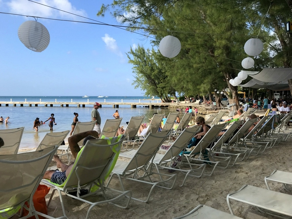 Beach at Rum Point on Grand Cayman Photo Heatheronhertravels.com