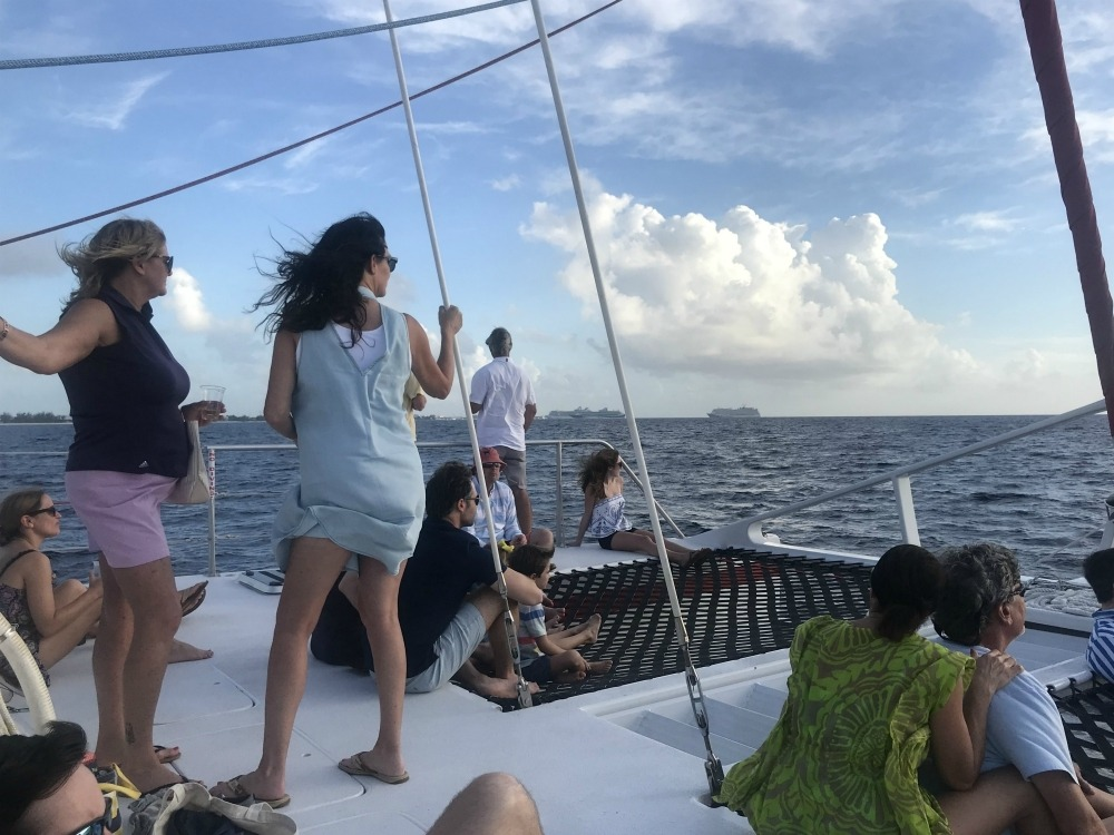 Sunset Cruise in the Cayman Islands with Red Sail Sports - Cayman Islands Photo Heatheronhertravels.com